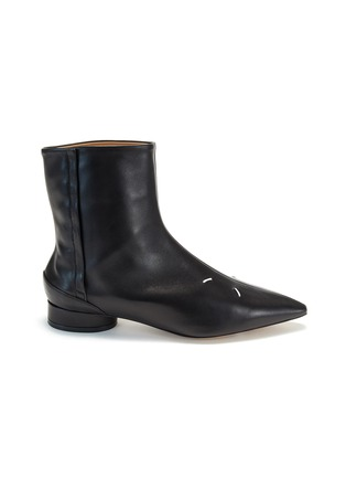 首图 - 点击放大 - MAISON MARGIELA - KIKI logo真皮短靴