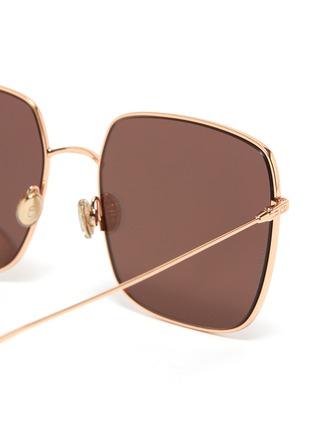 细节 - 点击放大 - DIOR - SOSTELLAIRE1金属方框太阳眼镜