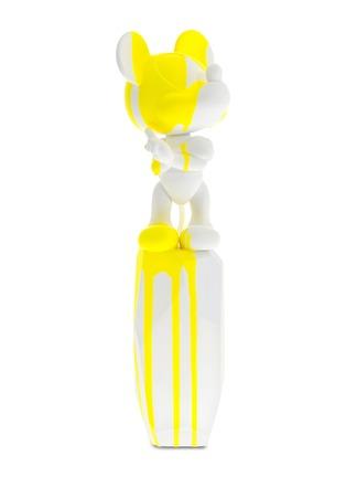 首图 –点击放大 - LEBLON-DELIENNE - X ARIK LEVY大号米老鼠雕塑-白色及亮黄色