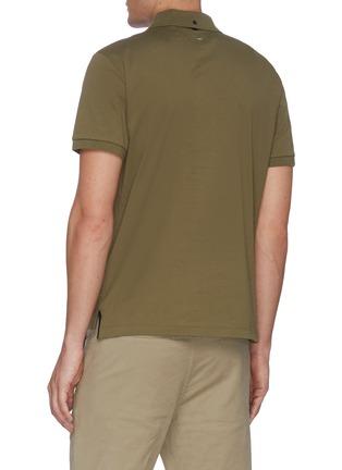背面 - 点击放大 - RAG & BONE - logo刺绣纯棉polo衫