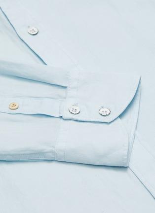 - RAG & BONE - FIT 2 TOMLIN混亚麻及棉衬衫