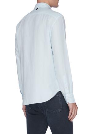 背面 - 点击放大 - RAG & BONE - FIT 2 TOMLIN混亚麻及棉衬衫
