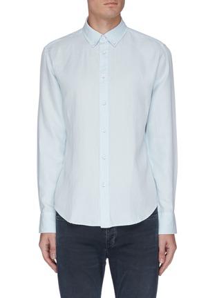 首图 - 点击放大 - RAG & BONE - FIT 2 TOMLIN混亚麻及棉衬衫