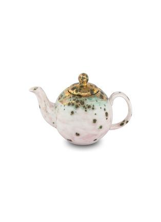 首图 –点击放大 - CORALLA MAIURI - Michelangelo陶瓷茶壶-绿色
