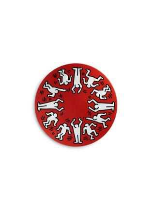 首图 –点击放大 - LIGNE BLANCHE - White on Red陶瓷盘