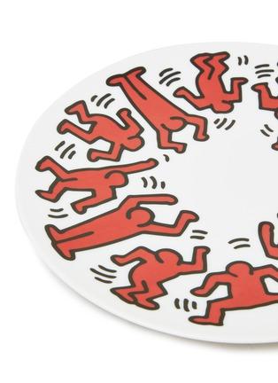 细节 –点击放大 - LIGNE BLANCHE - RED ON WHITE陶瓷盘(21cm)