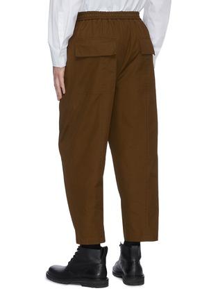 背面 - 点击放大 - JIL SANDER - 抽绳裤腰露踝裤