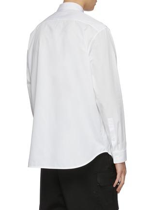 背面 - 点击放大 - JIL SANDER - 钮扣纯棉衬衫