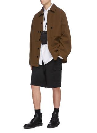 模特儿示范图 - 点击放大 - JIL SANDER - 钮扣纯棉衬衫