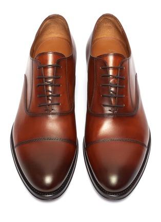 细节 - 点击放大 - ANTONIO MAURIZI - 渐变真皮牛津鞋