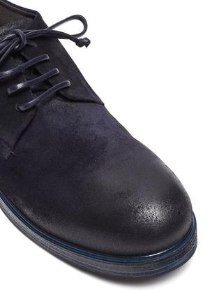 细节 - 点击放大 - MARSÈLL - ZUCCA ZEPPA绒面小牛皮德比鞋