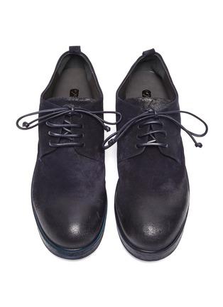 模特儿示范图 - 点击放大 - MARSÈLL - ZUCCA ZEPPA绒面小牛皮德比鞋