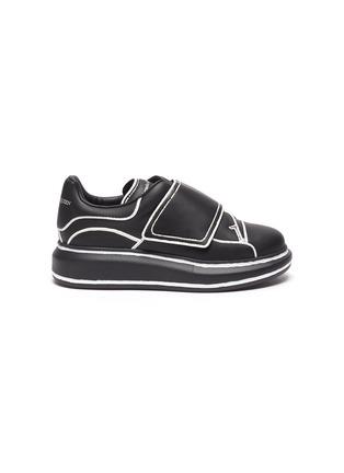 首图 - 点击放大 - ALEXANDER MCQUEEN - 儿童款拼色围边真皮厚底运动鞋