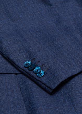 - ISAIA - CORTINA平驳领羊毛西服套装