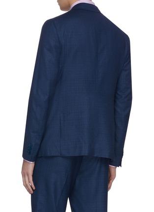 背面 - 点击放大 - ISAIA - CORTINA平驳领羊毛西服套装
