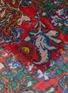 细节 - 点击放大 - FRANCO FERRARI - EVANS WASH抽象花卉图案围巾