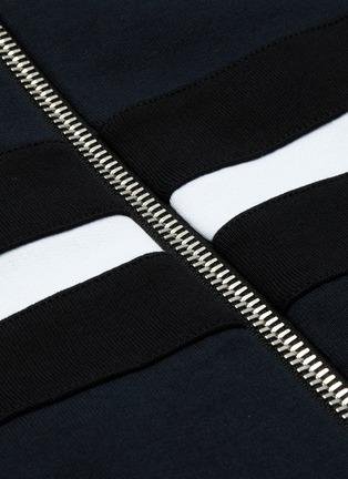 - BALMAIN - 拼色品牌名称纯棉夹克