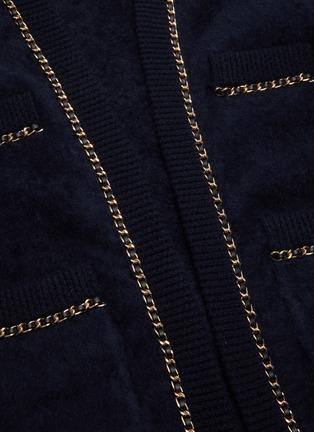 - CRUSH COLLECTION - 链条点缀针织开衫