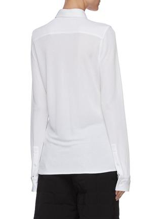背面 - 点击放大 - BOTTEGA VENETA - 纯色衬衫