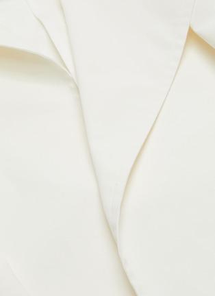 - BOTTEGA VENETA - 三角形扣饰腰带oversize纯棉大衣