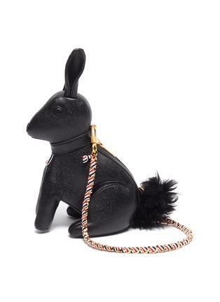 首图 - 点击放大 - THOM BROWNE - 小号兔子造型荔枝纹真皮包