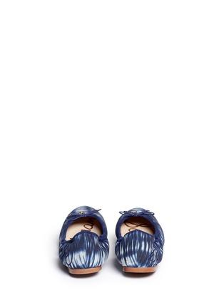 背面 - 点击放大 - SAM EDELMAN - FELICIA拼色印花芭蕾鞋