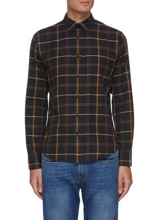 首图 - 点击放大 - RAG & BONE - FIT 2 TOMLIN拼色格纹衬衫