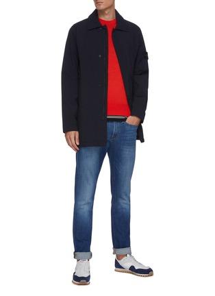 模特儿示范图 - 点击放大 - RAG & BONE - RILEY针织衫