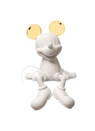 首图 –点击放大 - LEBLON-DELIENNE - MICKEY #TAKE2 #GOLD BY KELLY HOPPEN拼色耳朵米老鼠雕塑-白色及金色
