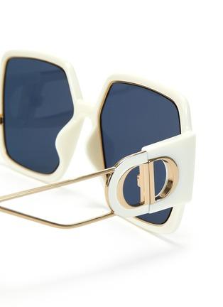细节 - 点击放大 - DIOR - 30 MONTAIGNE OVERSIZE板材方框太阳眼镜