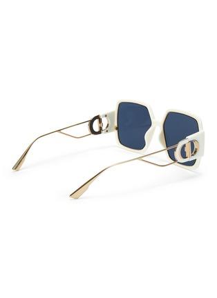 模特儿示范图 - 点击放大 - DIOR - 30 MONTAIGNE OVERSIZE板材方框太阳眼镜