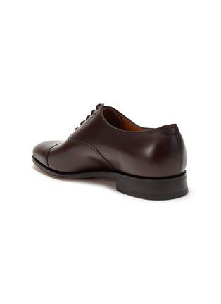 细节 - 点击放大 - JOHN LOBB - CITY II TENSILE小牛皮牛津鞋