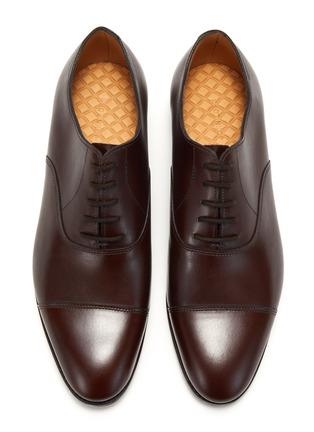 模特儿示范图 - 点击放大 - JOHN LOBB - CITY II TENSILE小牛皮牛津鞋
