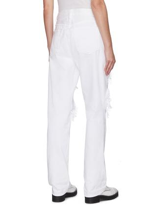 背面 - 点击放大 - FRAME DENIM - LE HOLLYWOOD磨破纯棉牛仔裤
