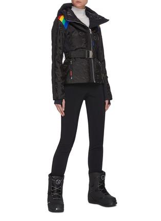 模特儿示范图 - 点击放大 - ROSSIGNOL - FUSEAU logo修身功能滑雪裤