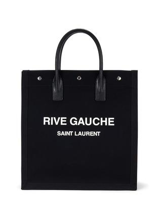 首图 - 点击放大 - SAINT LAURENT - RIVE GAUCHE logo帆布托特包