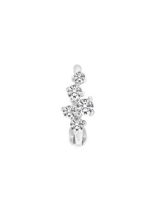 首图 –点击放大 - GENTLE DIAMONDS - MIKI培育钻石9k白金单只耳环