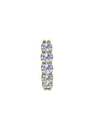 首图 –点击放大 - GENTLE DIAMONDS - CELIA培育钻石9k金圆环单只耳环