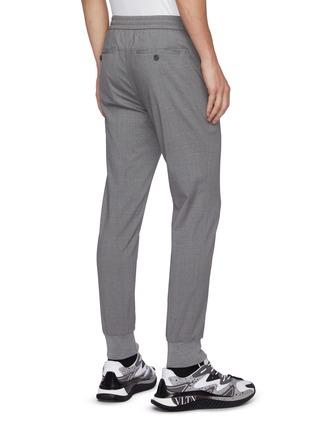 背面 - 点击放大 - WOOYOUNGMI - 半松紧裤腰混羊毛休闲裤