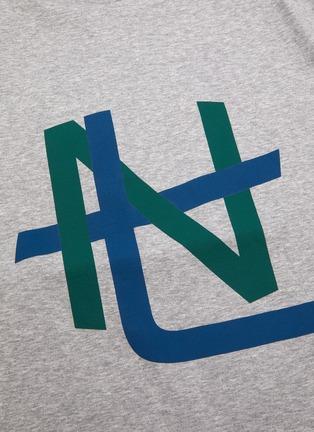 - NANAMICA - 拼色抽象图案纯棉T恤