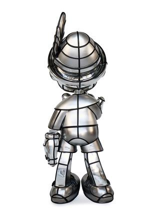细节 –点击放大 - LANE CRAWFORD - APPortfolio x David Flores REAL BOY限量版皮诺曹雕塑-银色