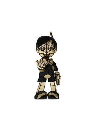 首图 –点击放大 - LANE CRAWFORD - APPortfolio x David Flores REAL BOY限量版皮诺曹青铜雕塑-金色