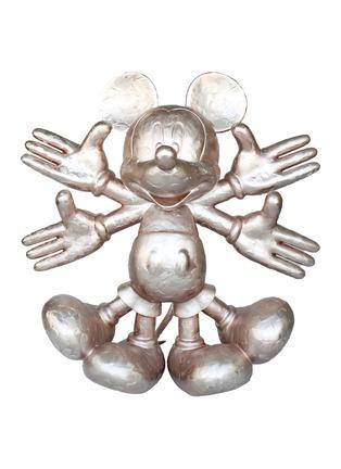 首图 –点击放大 - LANE CRAWFORD - Snow Angel限量版米老鼠雕塑-玫瑰金色(120cm)