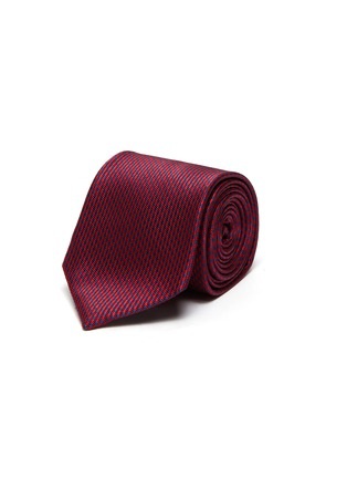 首图 - 点击放大 - STEFANOBIGI MILANO - 拼色真丝领带