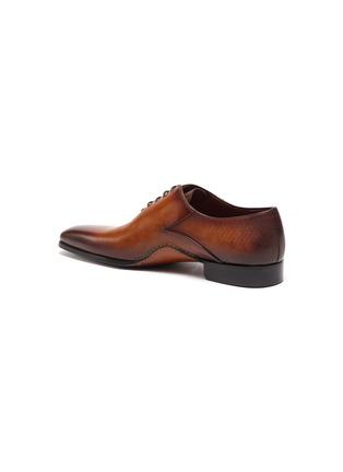 - MAGNANNI - OPANCA WHOLECUT拼接设计真皮牛津鞋