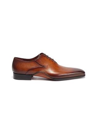首图 - 点击放大 - MAGNANNI - OPANCA WHOLECUT拼接设计真皮牛津鞋
