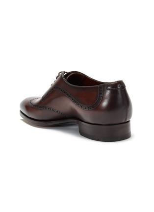 细节 - 点击放大 - MAGNANNI - 雕花真皮牛津鞋