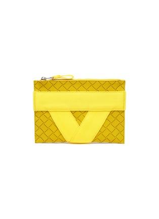 首图 - 点击放大 - BOTTEGA VENETA - 小号搭带几何纹理手拿包