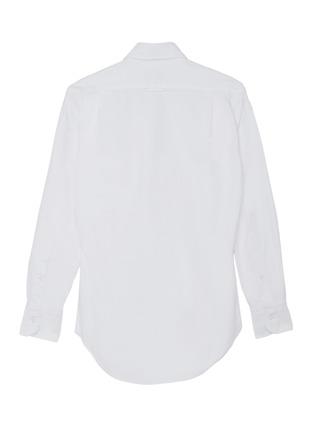 背面 –点击放大 - THOM BROWNE - x Lane Crawford品牌名称拼贴纯棉衬衫