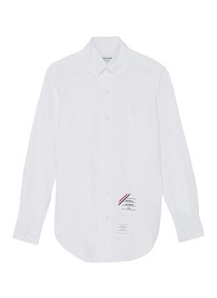 首图 –点击放大 - THOM BROWNE - x Lane Crawford品牌名称拼贴纯棉衬衫